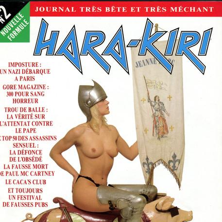 Hara Kiri N°2 La Fausse Mort De Paul couverture