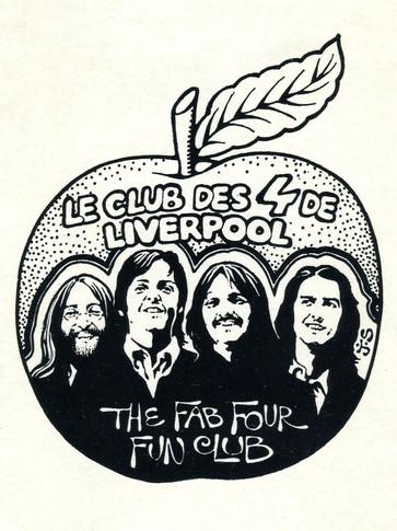 Jean Solé Sticker Club des 4 De Liverpool