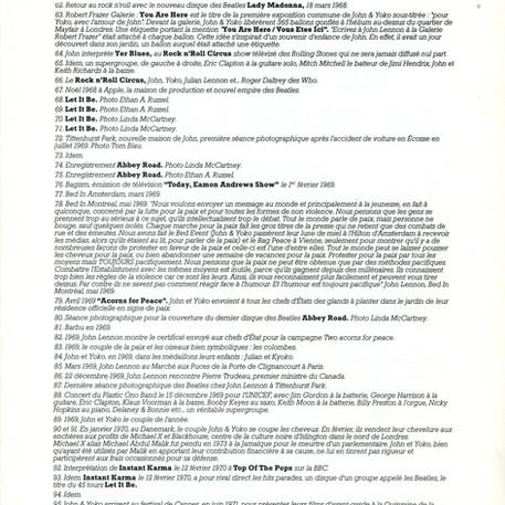 Exposition John Lennon Un homme dans le siècle plaquette part 3