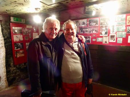 Liverpool août 2018 Casbah Club avec Pete Best