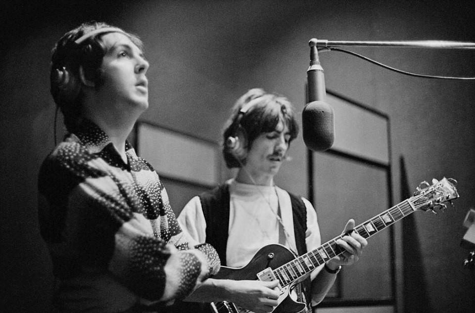 Savoy Truffle 5 octobre 1968 Studios Trident (photo Linda McCartney)