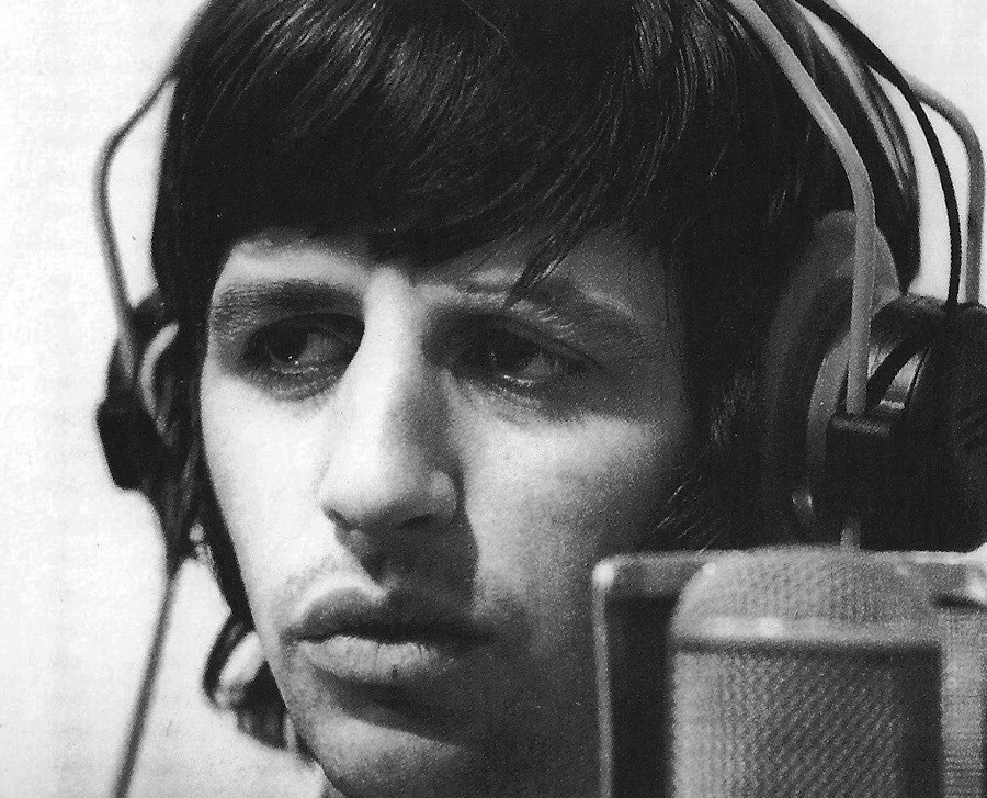 Ringo enregistrement Goodnight 28 juin 1968 (photo Leslie Bryce)