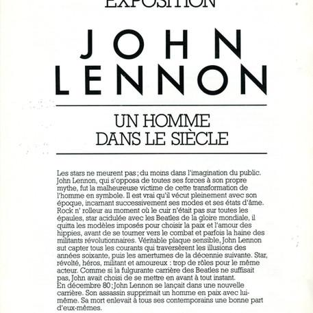 Exposition John Lennon Un homme dans le siècle plaquette part 1non_Un_homme_dans_le_