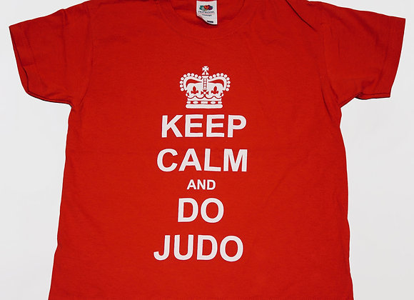 'Keep Calm and Do Judo' Tee (Kids and Youth)