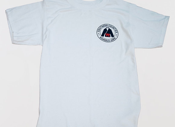 S.C.S.J. White Tee (Kids and Youth)