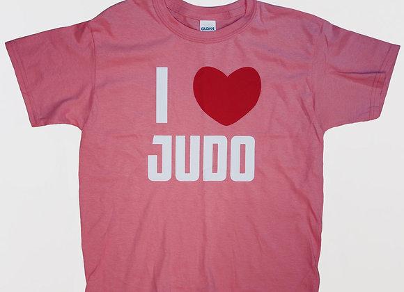 'I Love Judo' Tee (Kids and Youth)