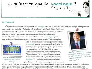 Newsletter n°2 | Octobre 2013 |La vocologie...