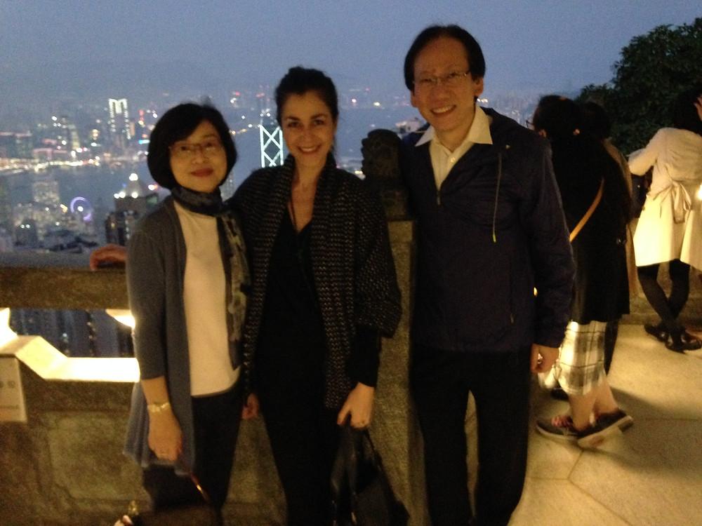 Pr Man Tak Leung et son épouse