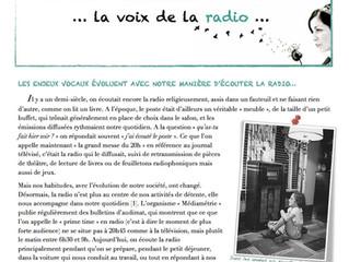 Newsletter n°5 | Février 2014 |La voix de la radio...