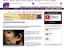 """""""La Voix et Soi"""" dimanche 6 juillet sur France Culture..."""
