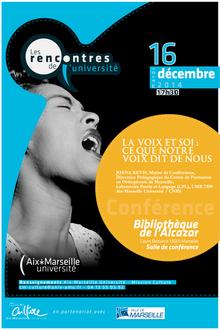 """""""La voix et soi"""" en live le 16 décembre !"""