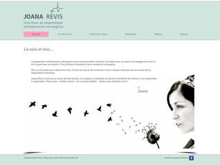 """Un site internet pour """"La voix et soi"""" !"""