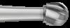 Burs - HP Tungsten Carbide Round 8 (023) - Pkt/5