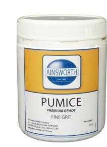 Pumice Fine Grit - Ainsworth (500g)
