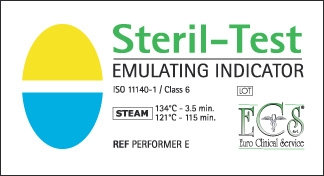 ECS Class 6 Steam Emulating Strips - Pkt/250