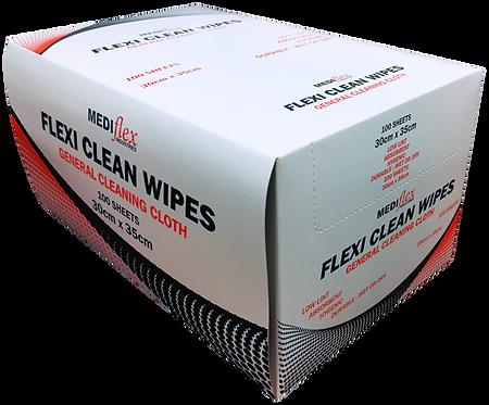 Flexi Clean Wipes - Box/100 (Mediflex)