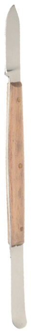 Wax Knife Small - Wooden Handle - 13cm Long