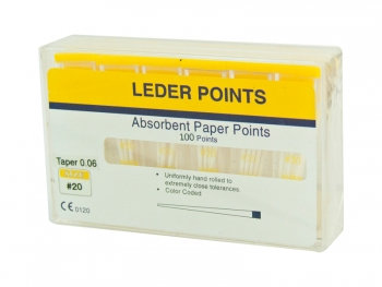 Paper Points 06 Taper Colour Coded - Pkt/100