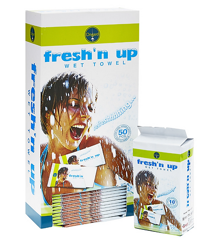 Fresh'n Up Towels -  Clinic Pack - Box/50 Singles