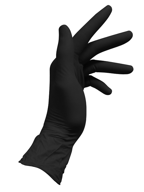 Black Nitrile Ultra Soft Examination Gloves (Bastion)