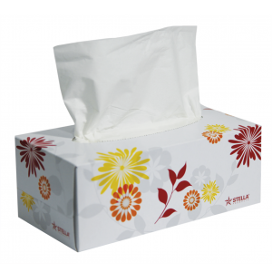 Stella Facial Tissue - 180 sheet - 1 Ctn/30 Boxes