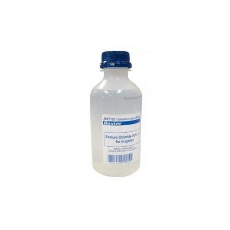 Sodium Chloride - Pour Bottle 500ml - Box/10