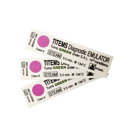 Titems Chemical Indicators - Class 6- Pkt/250 (Getinge)