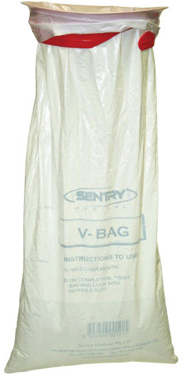 V Bag - Emisis Bag With Red Ring - Pkt/50
