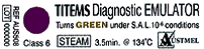 Titems Chemical Indicators - Class 6- Pkt/250 (Getinge)