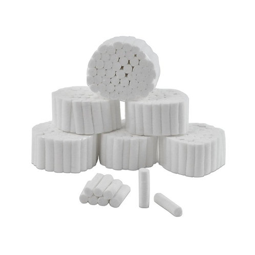 Cotton Rolls - #1 8mmx38mm (Celluron)Box/1000