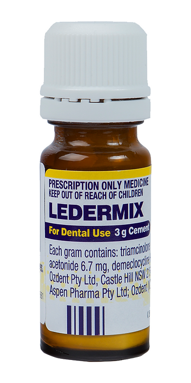 Ledermix Cement Powder 3g