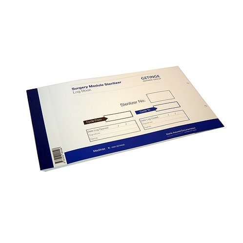MEDITRAX Surgery Module SterilizerLog Book (Getinge)