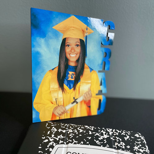 Customized Grad Picture Stand