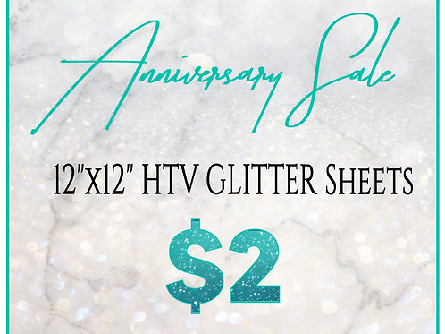 $2 Glitter HTV SALE