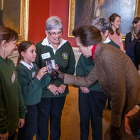 Her Royal Highness meets representatives and service users from RDA Glasgow
