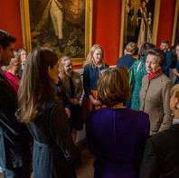 Her Royal Highness meets a number of the Trust's Patronesess