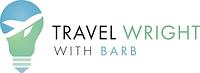 Travel Wright with Barb Horizontal Logo.