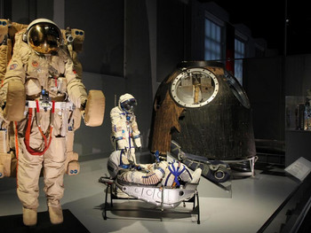 COSMONAUTS AT THE SCIENCE MUSUEM