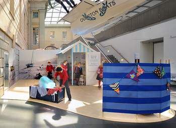 HUTS ADD INTEREST FOR NATIONAL MARITIME MUSEUM
