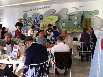 REAL STUDIOS TAKE TEA WITH V&A AT GOODWOOD