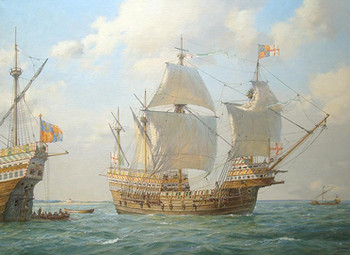 REAL STUDIOS RE-ANIMATES THE MARY ROSE