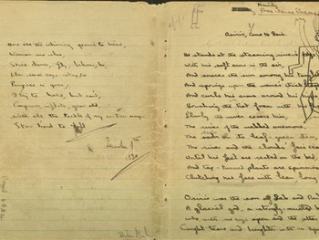 DYLAN THOMAS NOTEBOOKS: A REVELATION