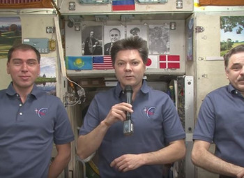 COSMONAUTS - A MESSAGE FROM SPACE