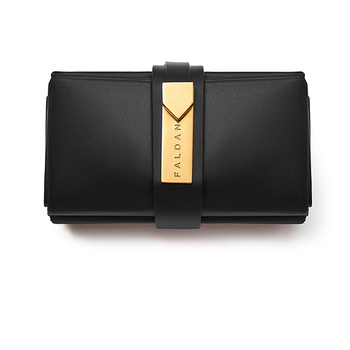 Faldan Bag in Black Leather