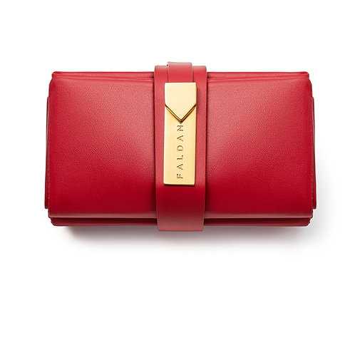 Faldan Bag in Red Leather