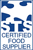 STS Logo, Certified Food Supplier,