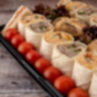 lunch platters, office catering