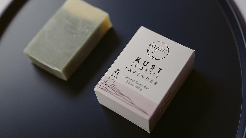 KUST - LAVENDER NATURAL BAR SOAP, 3.5 OZ.