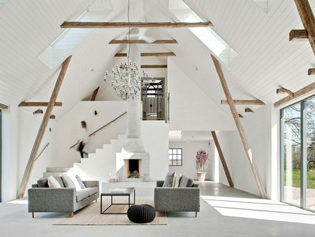 Watch this Century-Old Barn Turn into a Chic Swedish Home