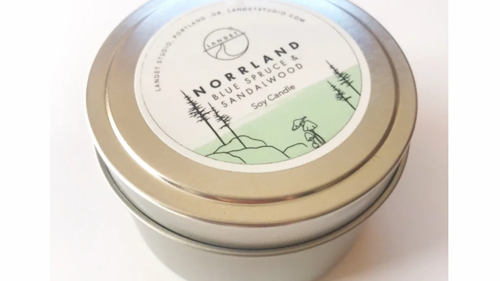 TRAVEL CANDLES 4OZ